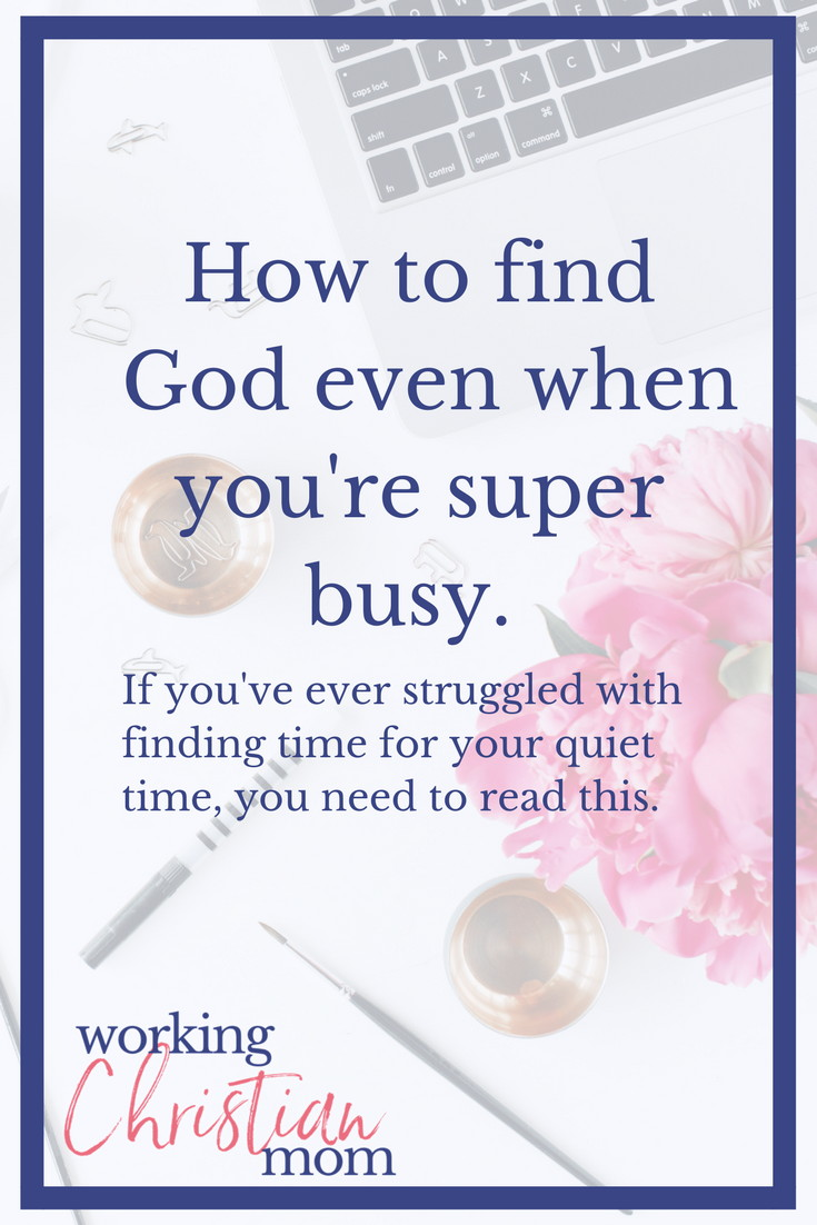 Finding God When You're Super Busy. What devotional should I do next? If this is a question you've ever asked yourself, make sure to read this!