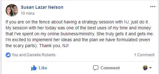 Strategy Testimonial