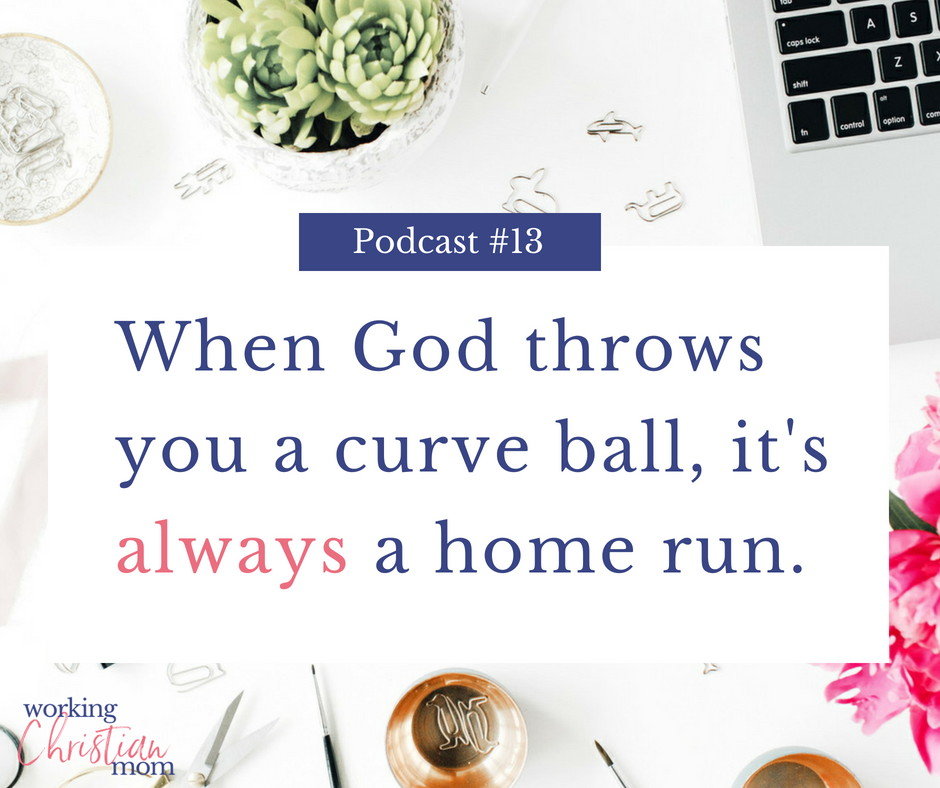 When God throws... podcast cover