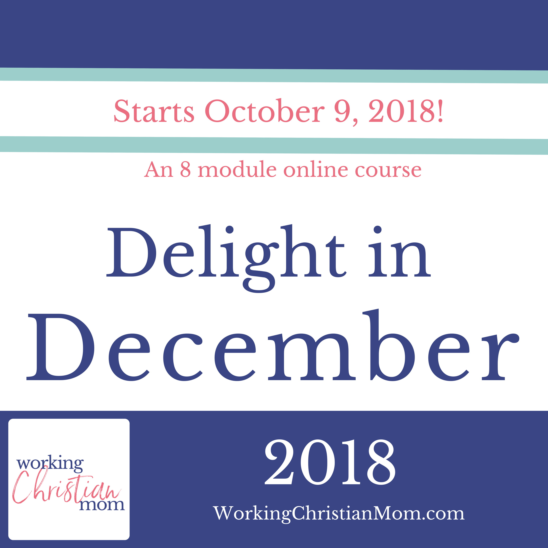 Delight In December