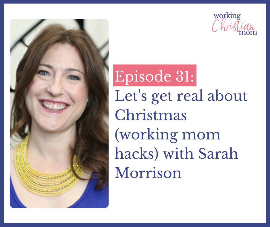 Let's get real about Christmas with Sarah Morrison